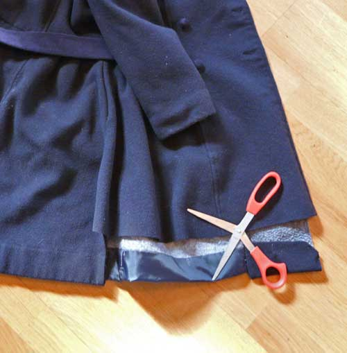 Casaco de lã para o chapéu de feltro