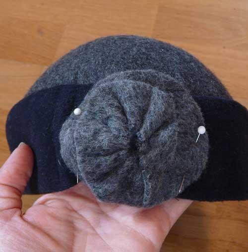 Felt Hat Flower