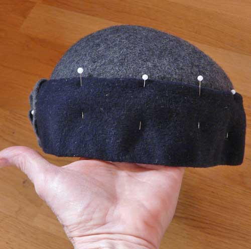 How to Make a Felt Hat (2) - DIY Marta
