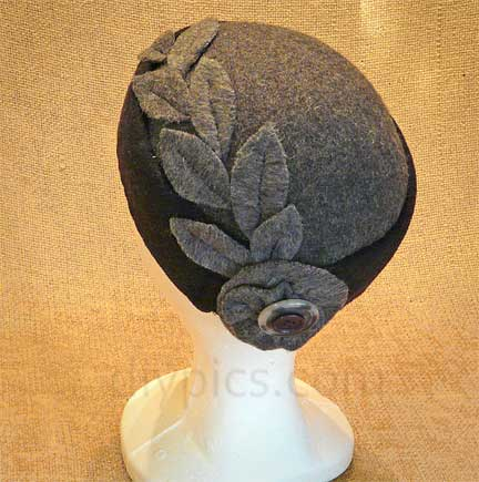 How to Make a Felt Hat (2)