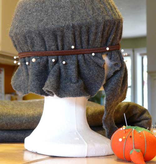 How to Make a Felt Hat - DIY Marta