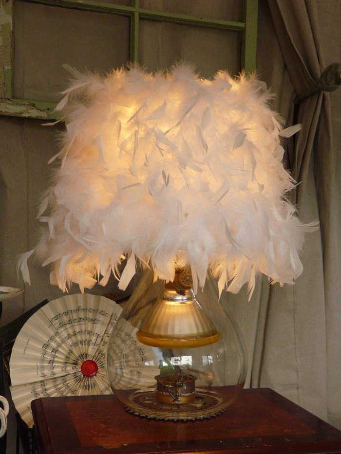 Upcycled Steampluck Lamp