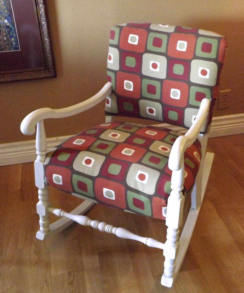 Non-Professional Chair Upholstery at Home
