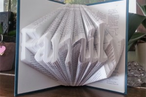 Simplified folded book