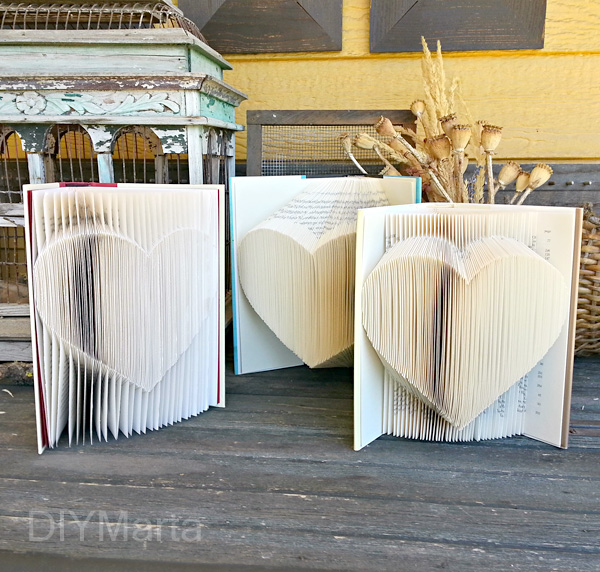 Folded Heart: 1 Pattern, 3 Ways