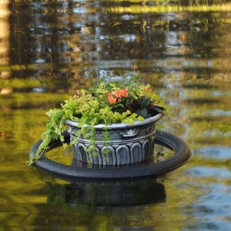 Jardim Flutuante Fácil