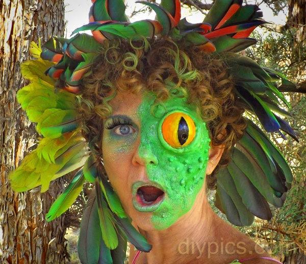 Frog Face Makeup