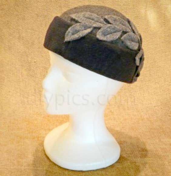 DIY felt hat